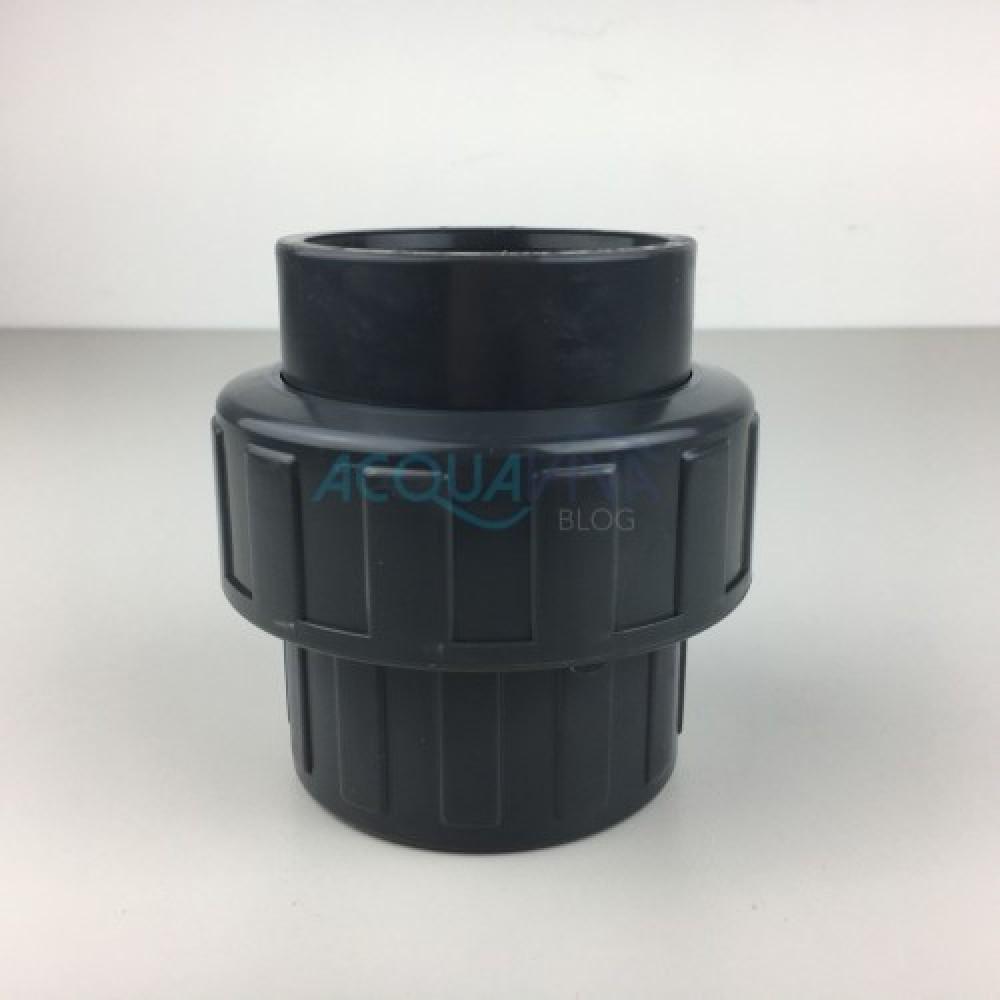 Bocchettone PVC c/oring Ø 63 mm Incollaggio F-F