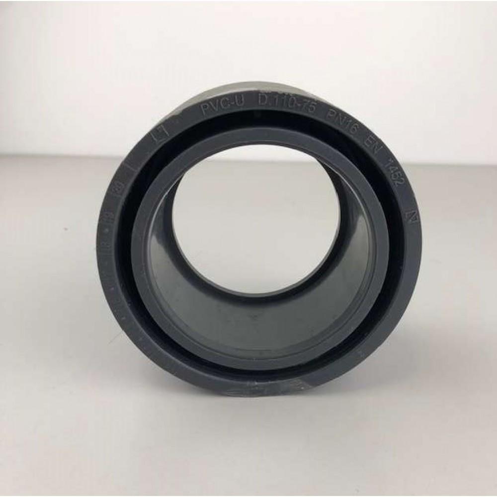 Riduzione in Pvc da 110 mm a 75 mm
