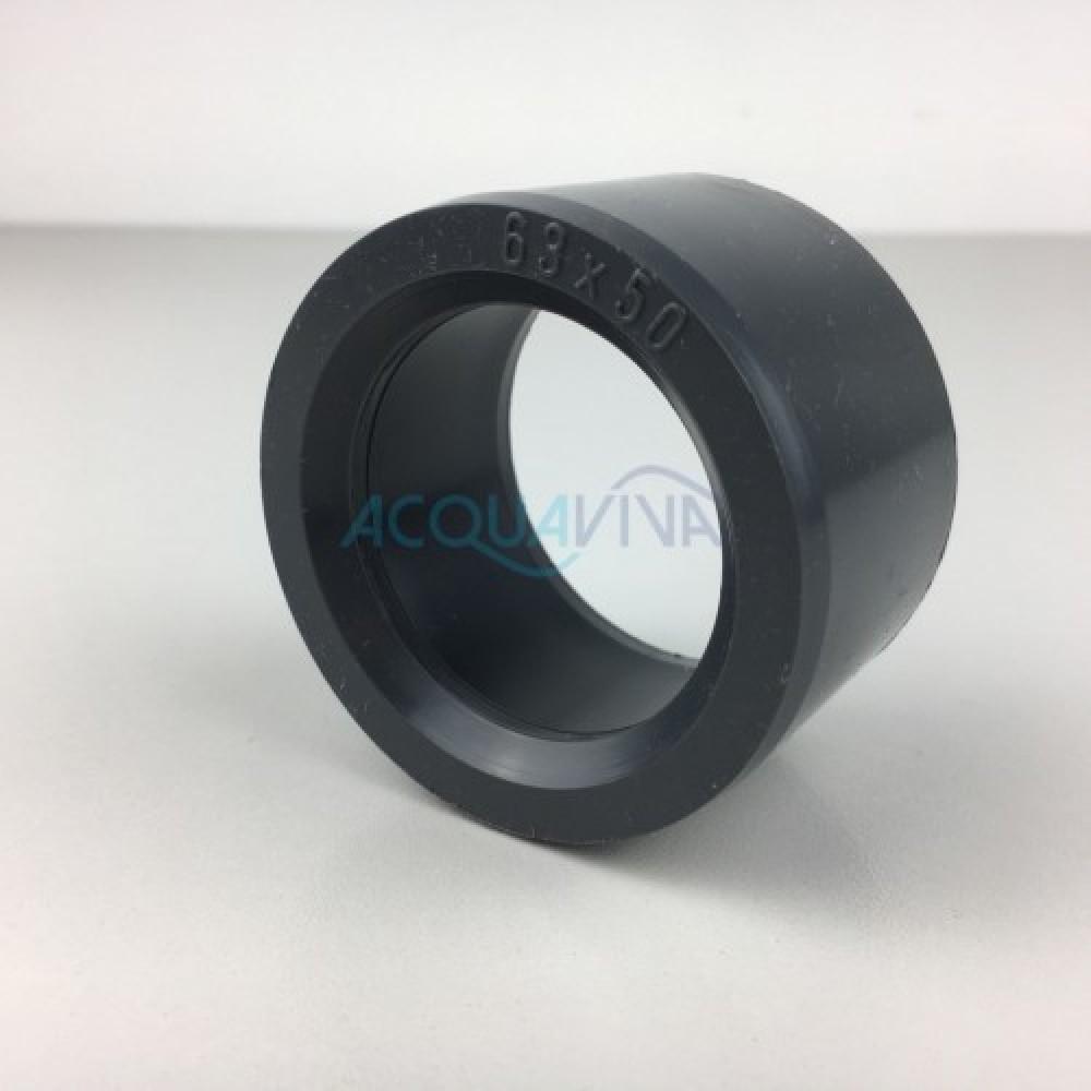 Riduzione in Pvc da 63 mm a 50 mm