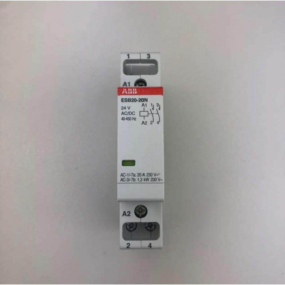 Teleruttore 2P 24V ESB 20-20