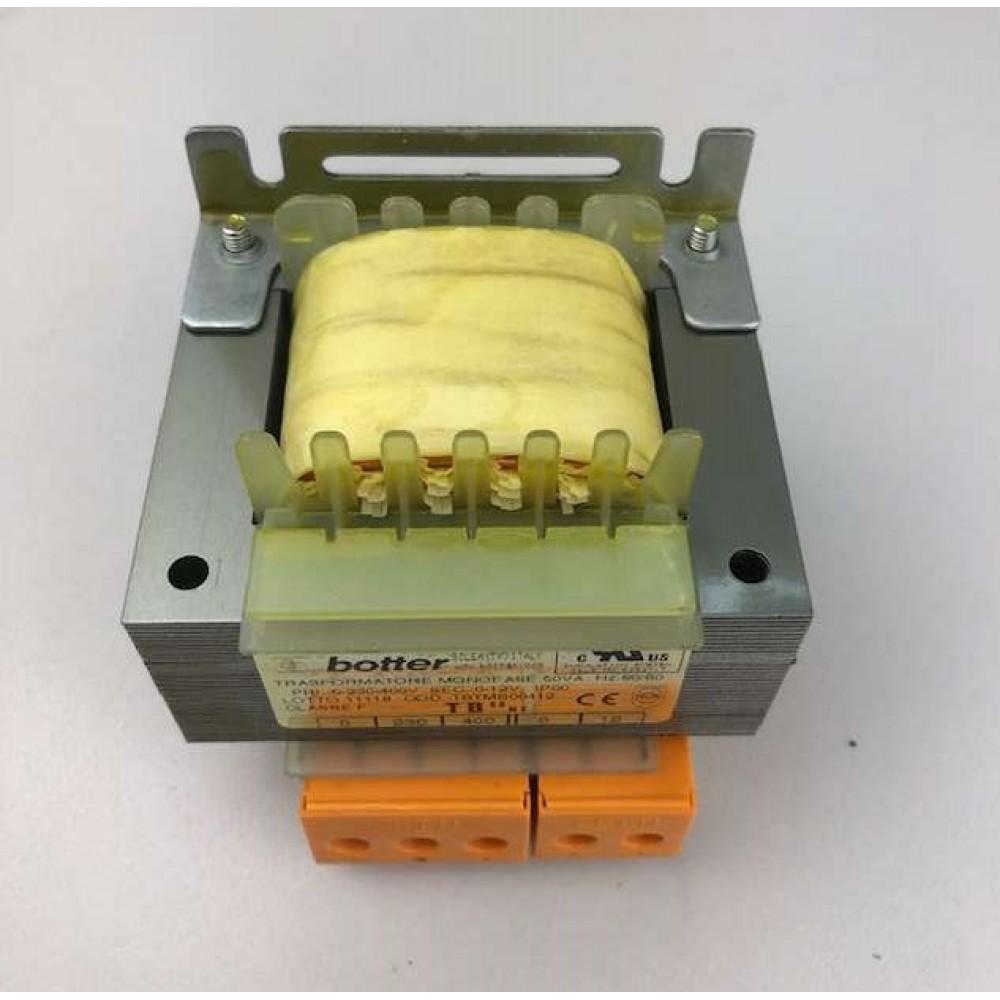 Corpo trasformatore VA 50 - 12V AC