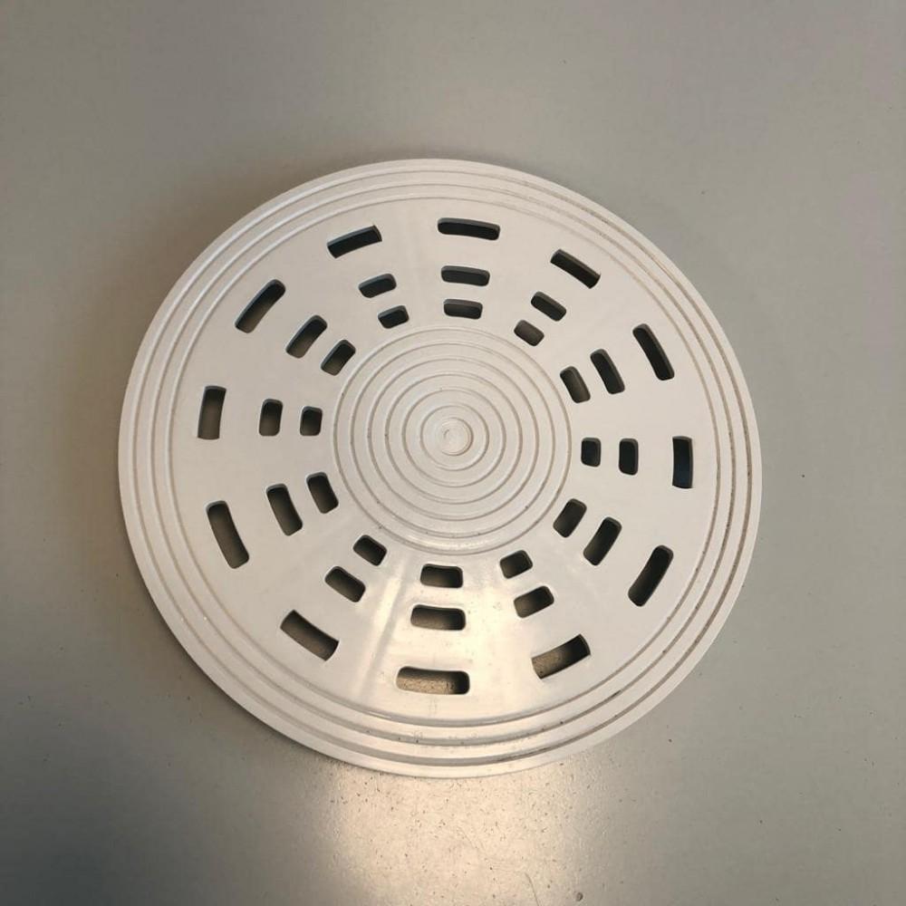 Griglia in ABS colore bianco per scarichi di fondo Pools