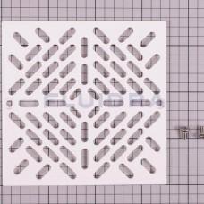 Griglia scolatoio quadrato