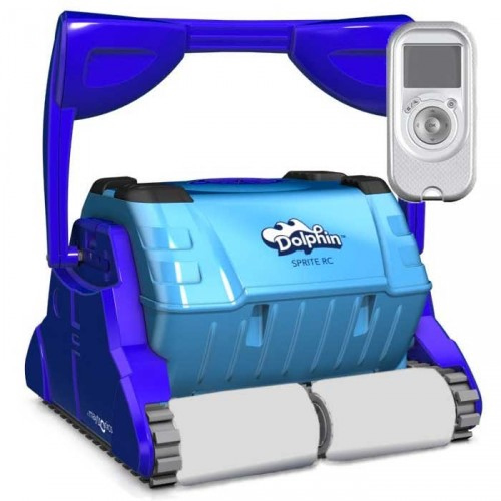 Robot piscina Dolphin Sprite RC Spazzole in Kanebo