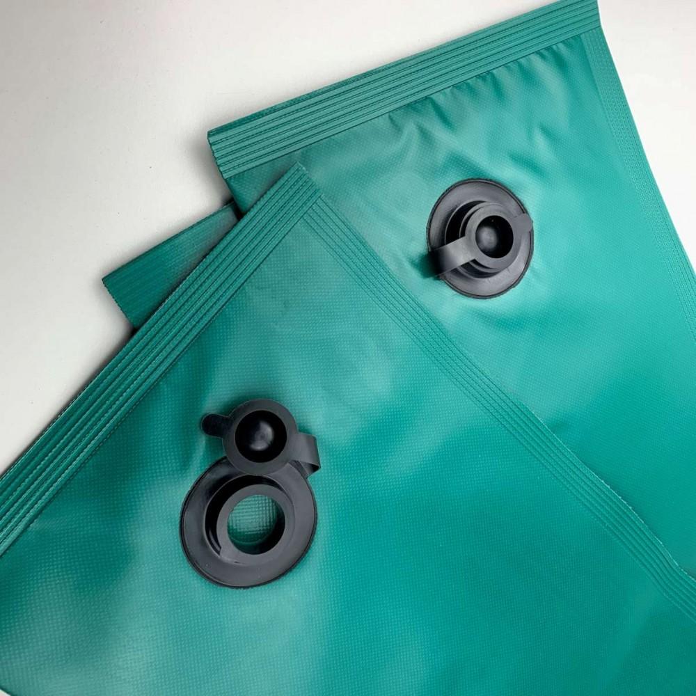 Salsicciotti verdi 1,25 m in PVC standard