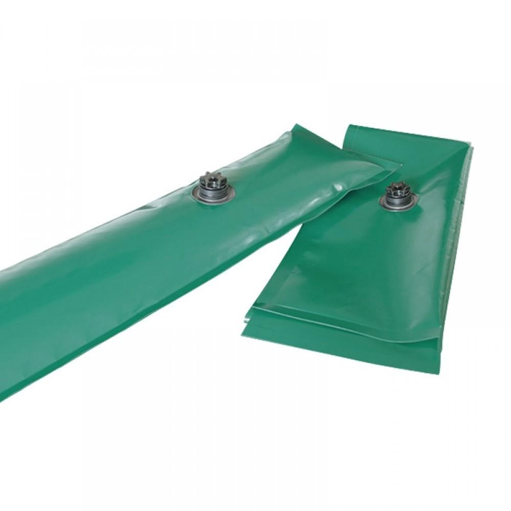 Salsicciotti verdi 1,25 m in PVC trevira