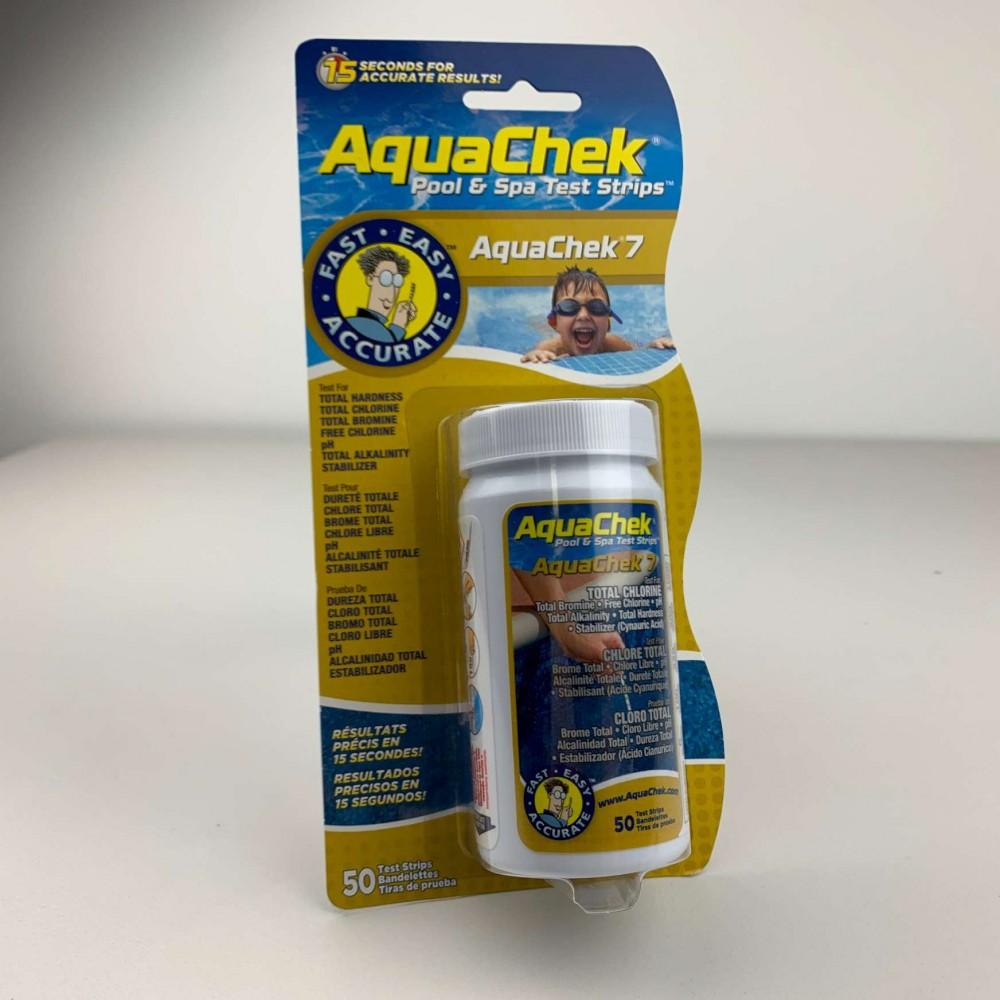 Aquacheck striscette reagenti 7 parametri