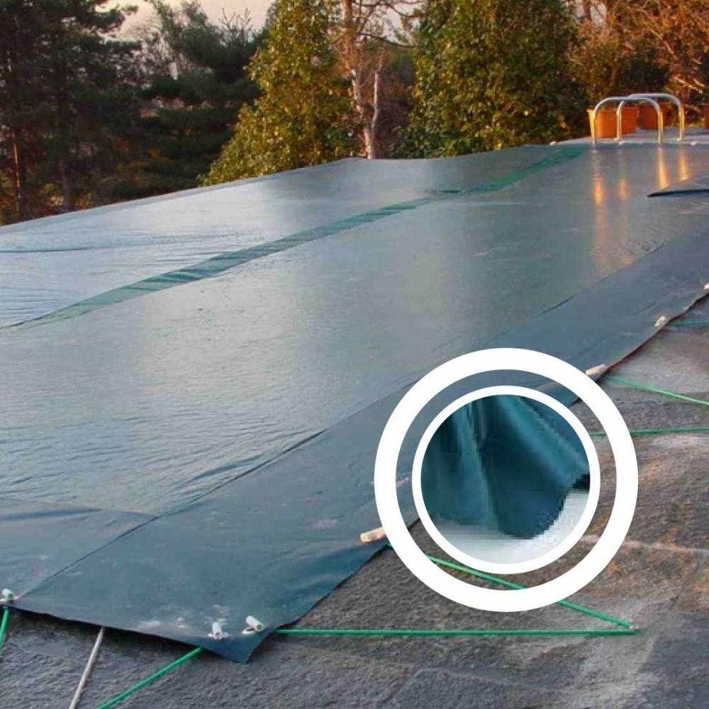 Telo copertura invernale tesa 750 Maggiore di 25m2