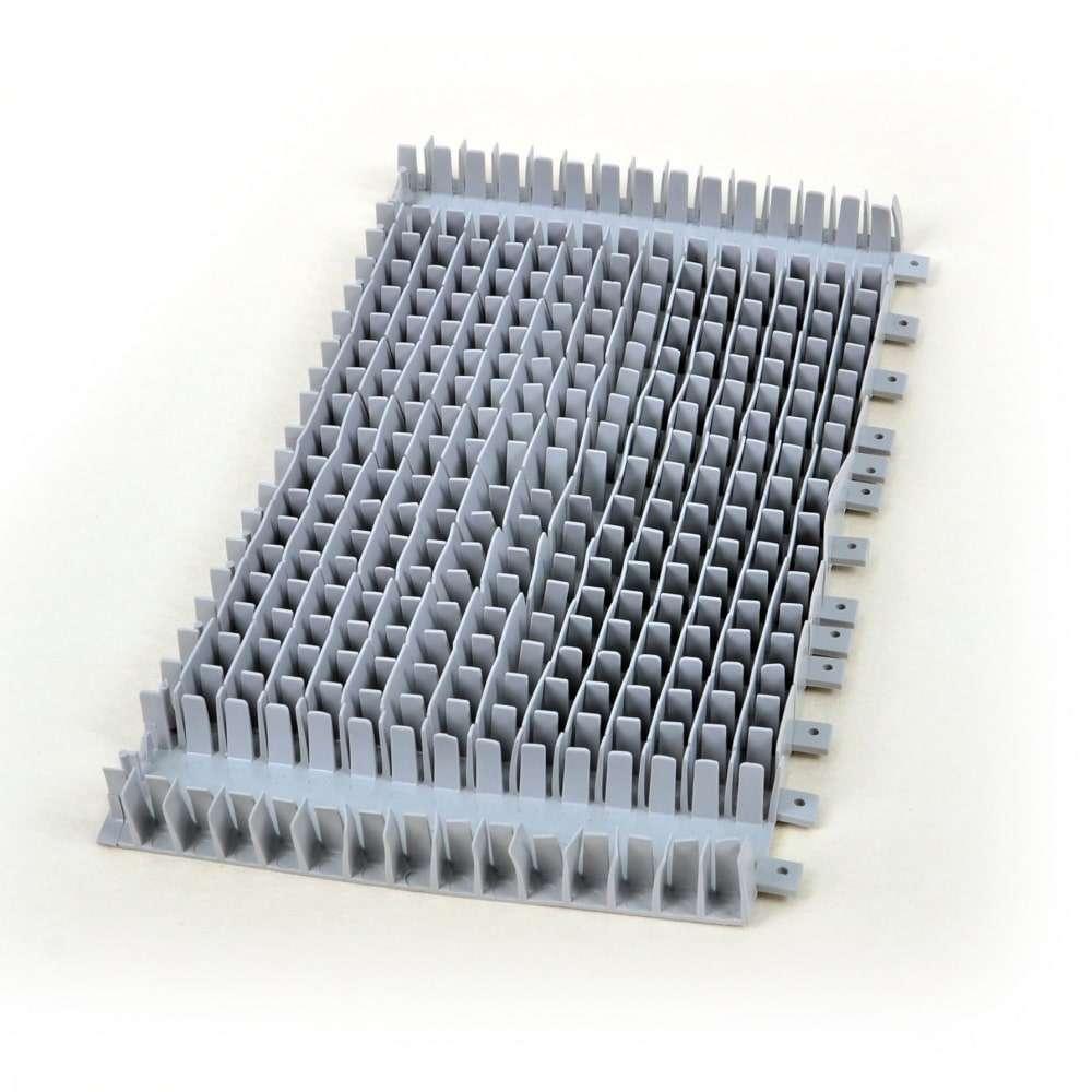 21 - Spazzola in pvc per cilindro rotante singolo Dolphin Wave 50