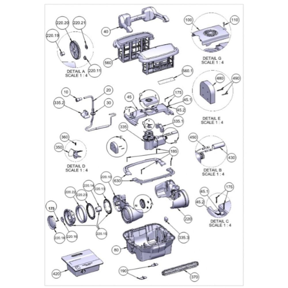355 - Motore di trazione Max 5