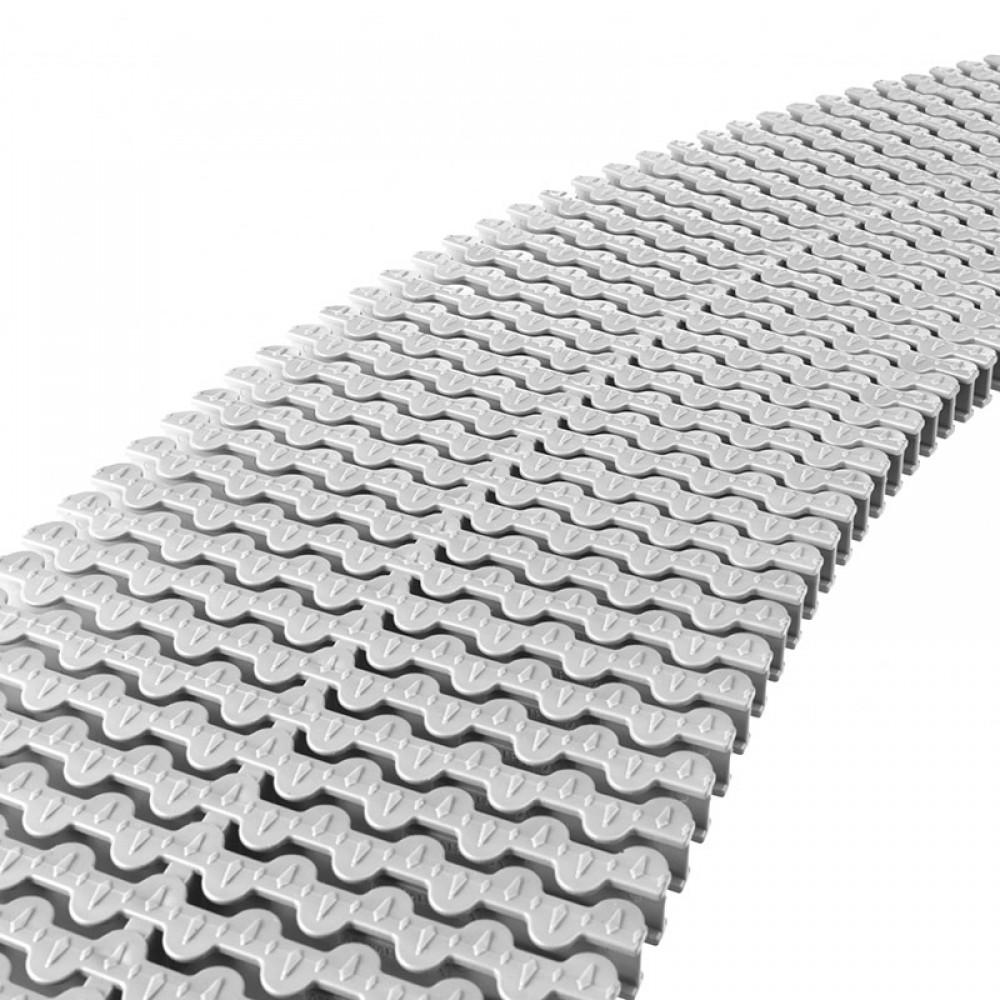 Modulo griglia trasversale per curve in polipropilene piscina a sfioro