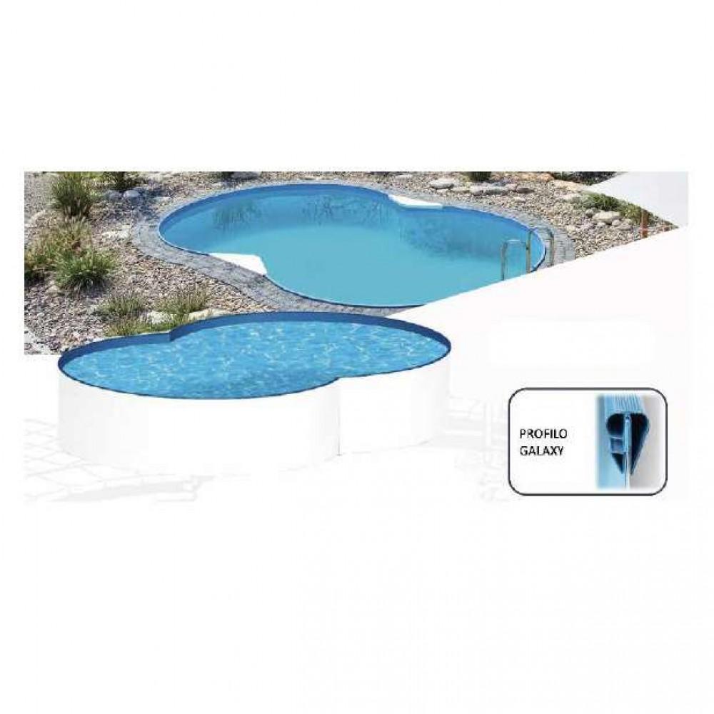 Galaxy piscina a otto MTH 320 cm - 525 cm - h 120 cm
