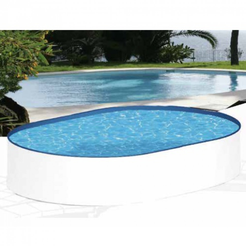 Sunny piscina ovale MTH 490 cm - 300 - h 120 cm