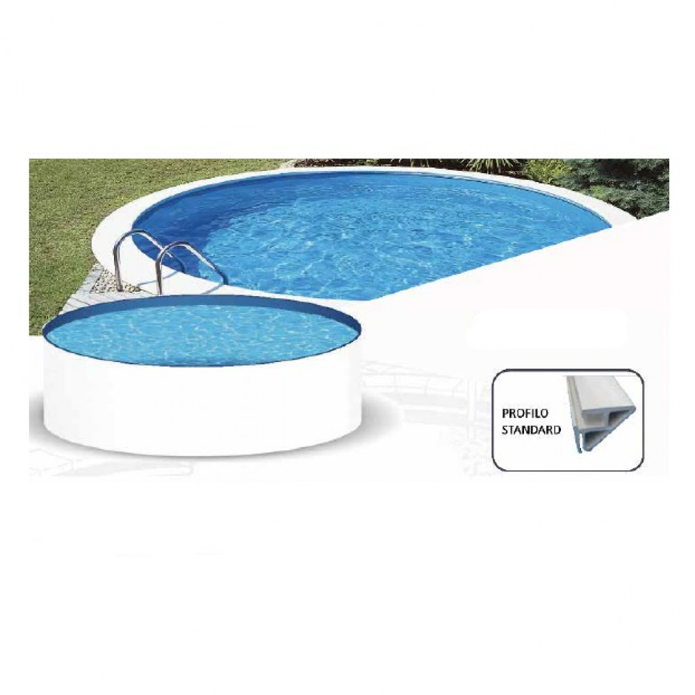 Sunny piscina rotonda MTH Ø 350 cm - h 120 cm