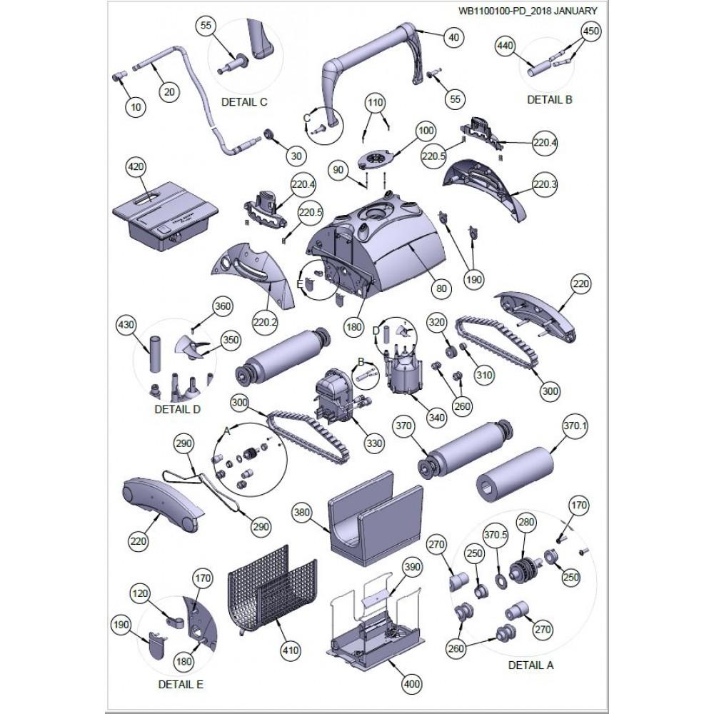 330 - Motore di trazione Leader Clean