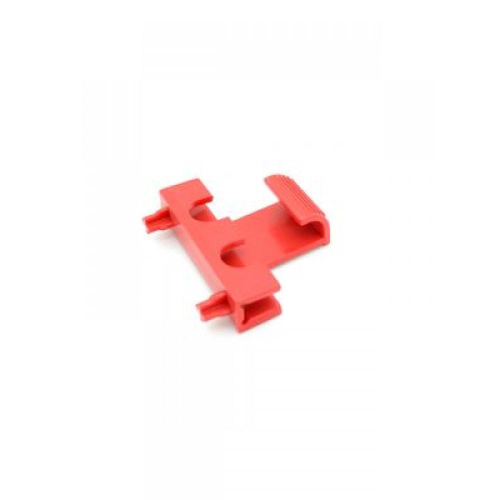 7 - Pulsante di blocco rosso Dolphin Diagnostic 3001
