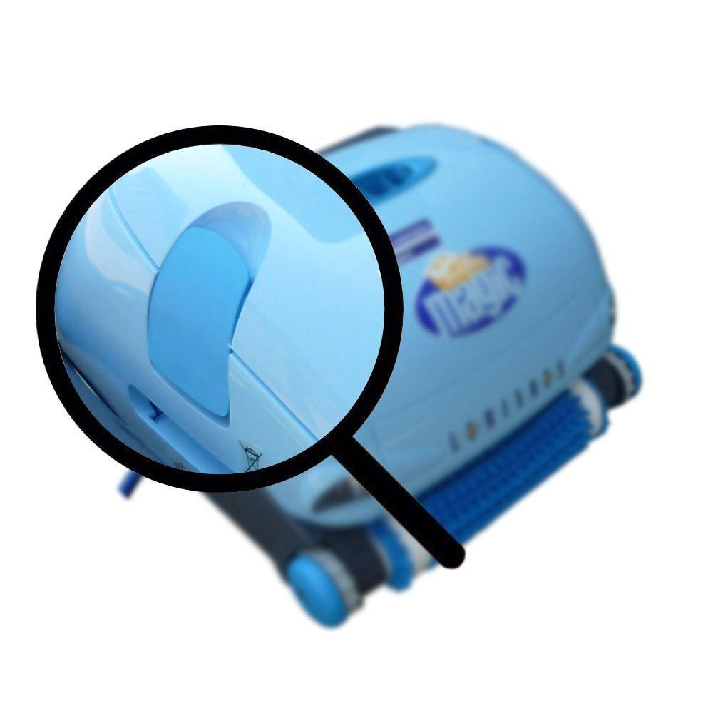 10 - Aletta chiusura coperchio destro azzurro (1pz.) Dolphin Luminous