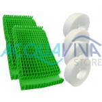 Kit spazzole PVC Combinate Moby / Pro
