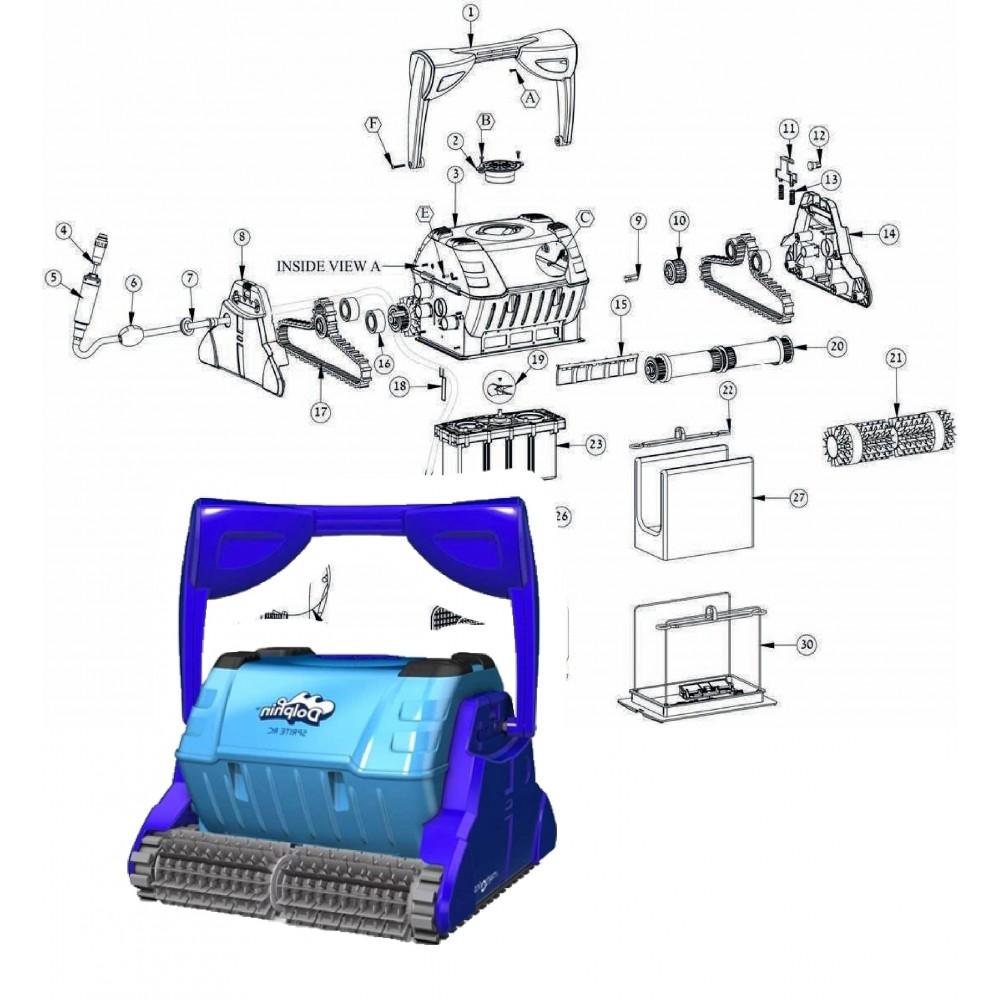 23 (01) - Box motore ricond. Sprite RC