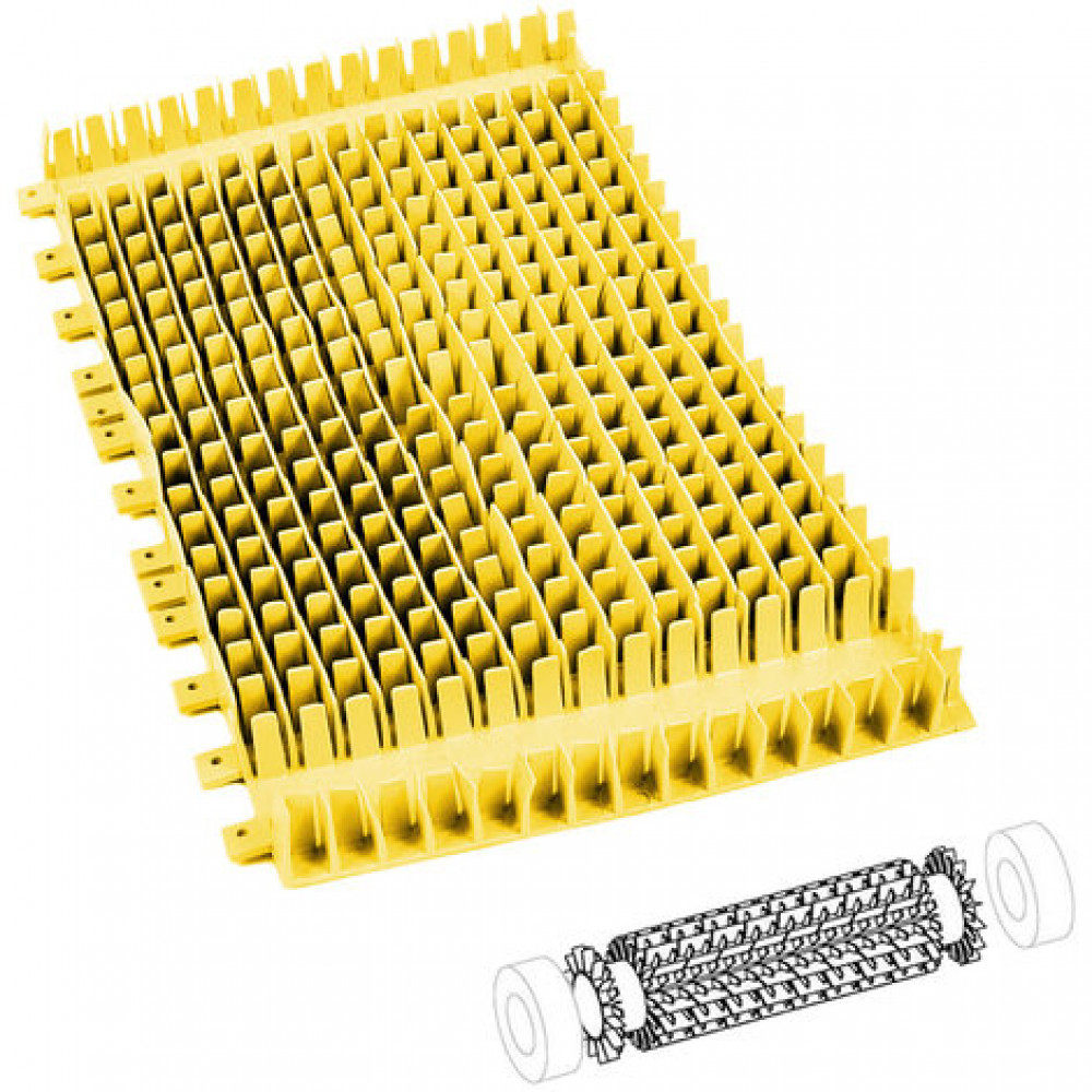 14 (01) - Spazzola PVC Combinata (1pz.) Swash
