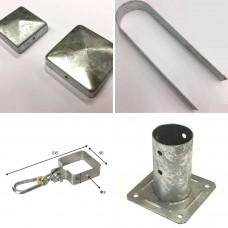 Accessori per pali e recinzioni