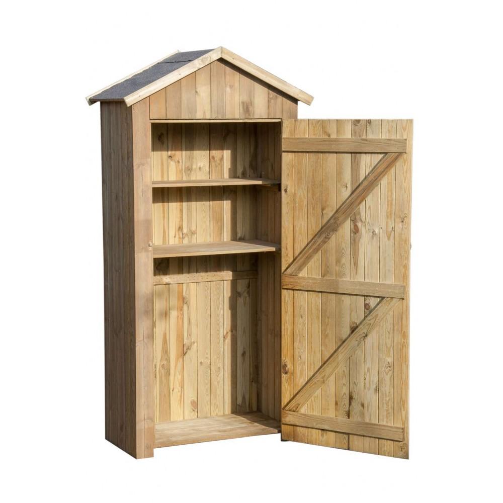 Armadio in legno Nancy 90 cm x 48 cm x h 207 cm