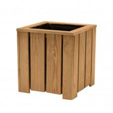 Fioriera Amelia in legno 35 cm x 35 cm x h 37 cm