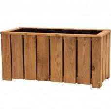 Fioriera Amelia in legno 35 cm x 75 cm x h 37 cm
