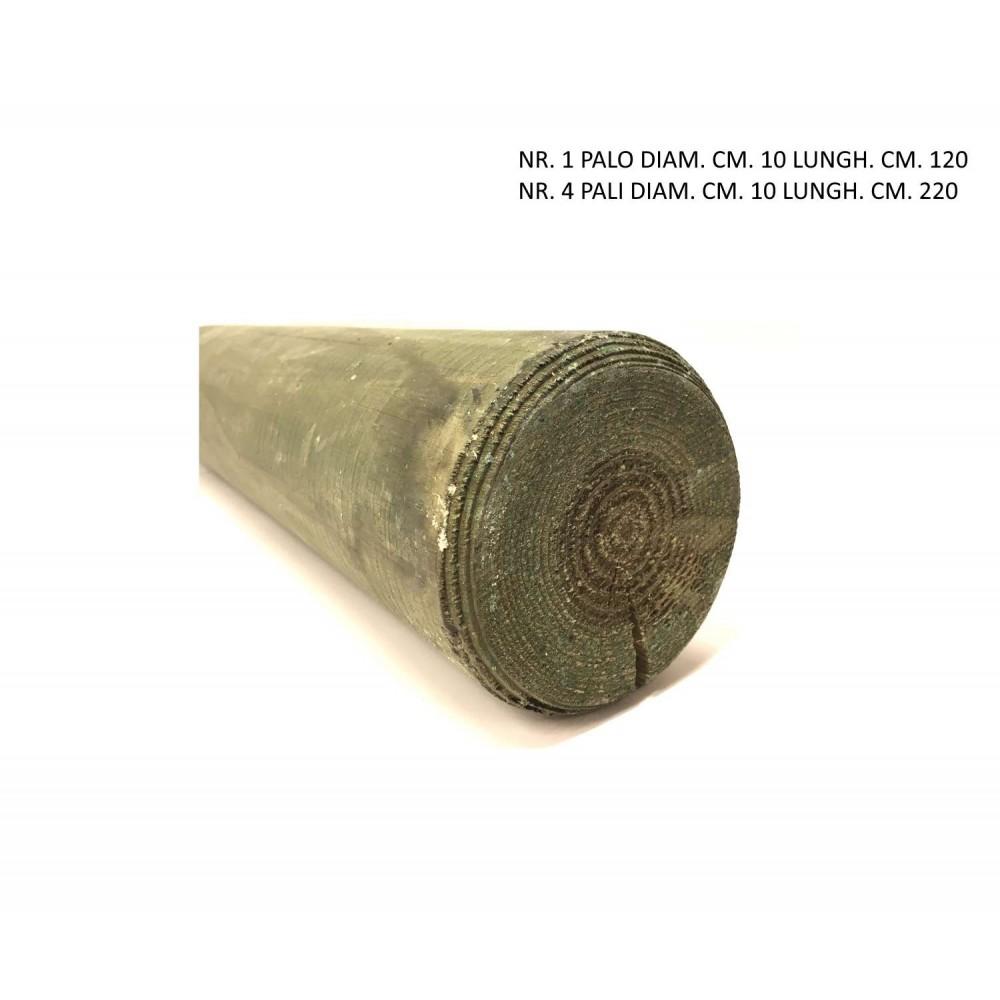 Kit pali da 10 cm di diametro x1 120 cm x4 220 cm