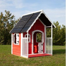 Casetta per bambini in legno Anny 97 cm x 113 cm - h 150 cm