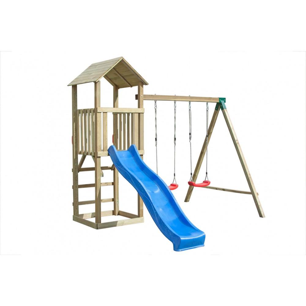 Torre in legno singola 320 cm x 280 cm - h 265 cm
