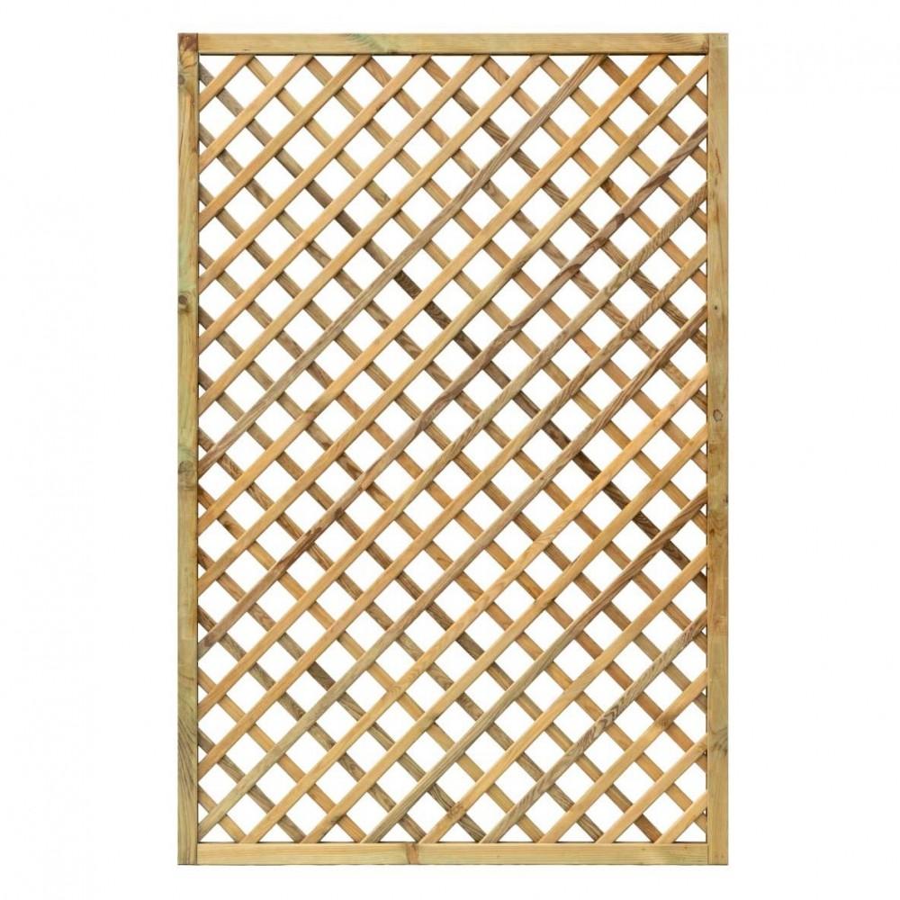 Grigliati in legno Premium 120 x 180 cm