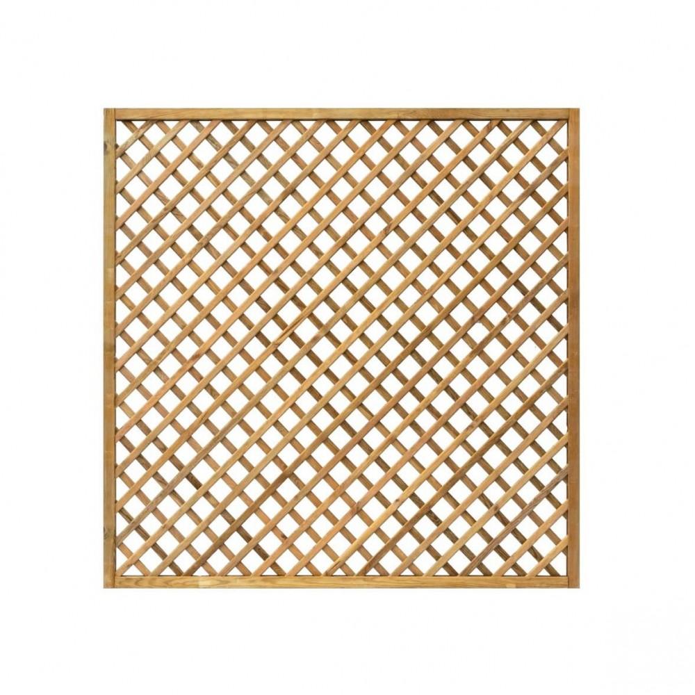 Grigliati in legno Premium 180 x 180 cm