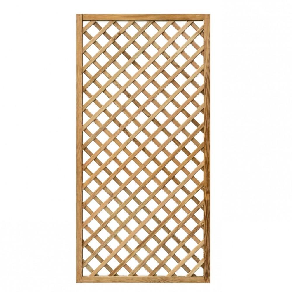 Grigliati in legno Premium 90 x 180 cm