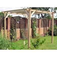 Pergola Eco in legno 300 cm x 300 cm - h 240 cm