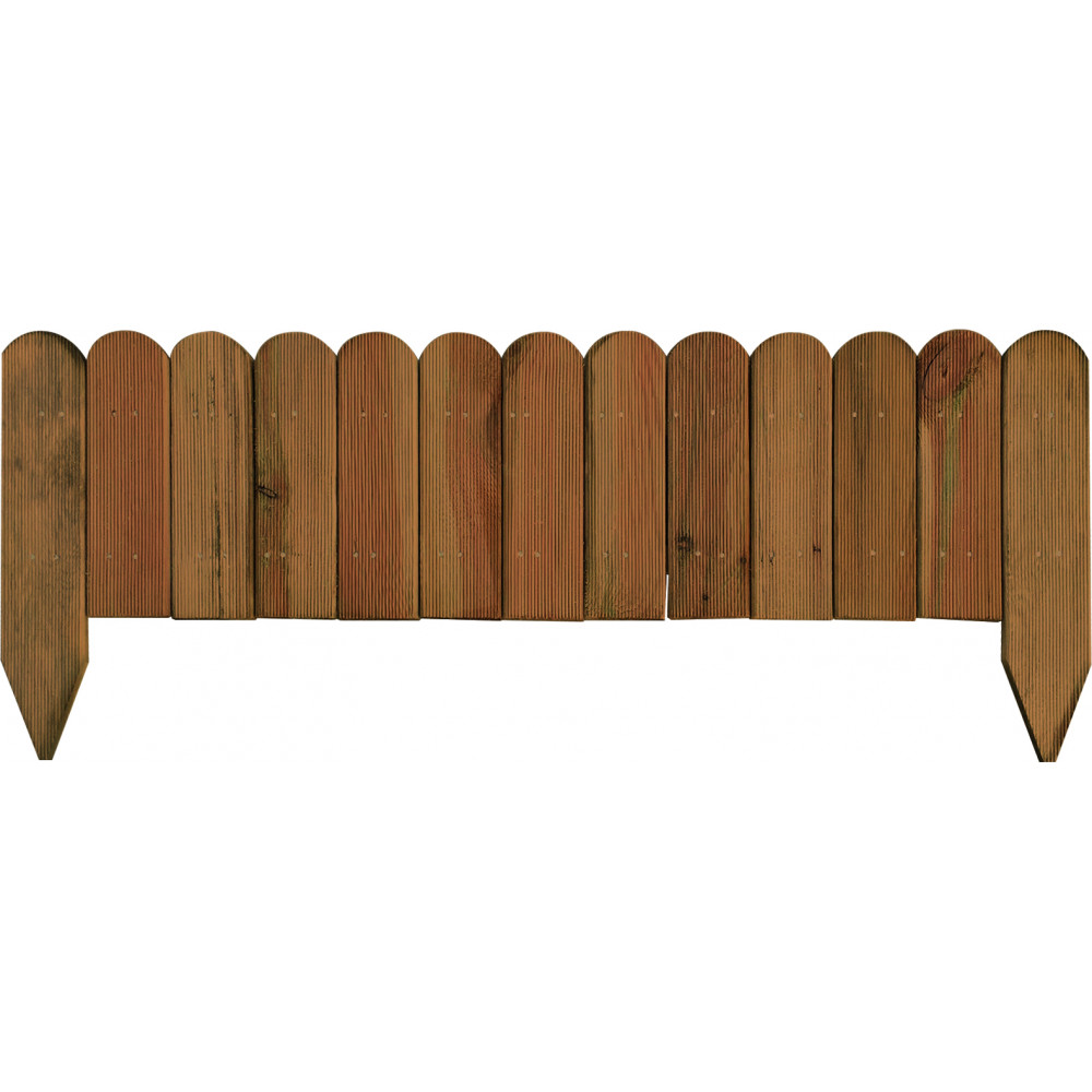 Bordura in legno Fast cm 30/45 - lung. 120