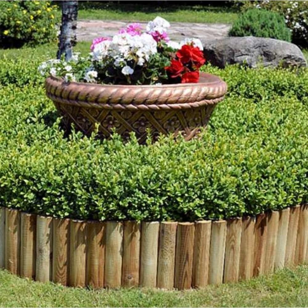 Bordura in legno Roll h cm 20 - lung. 200