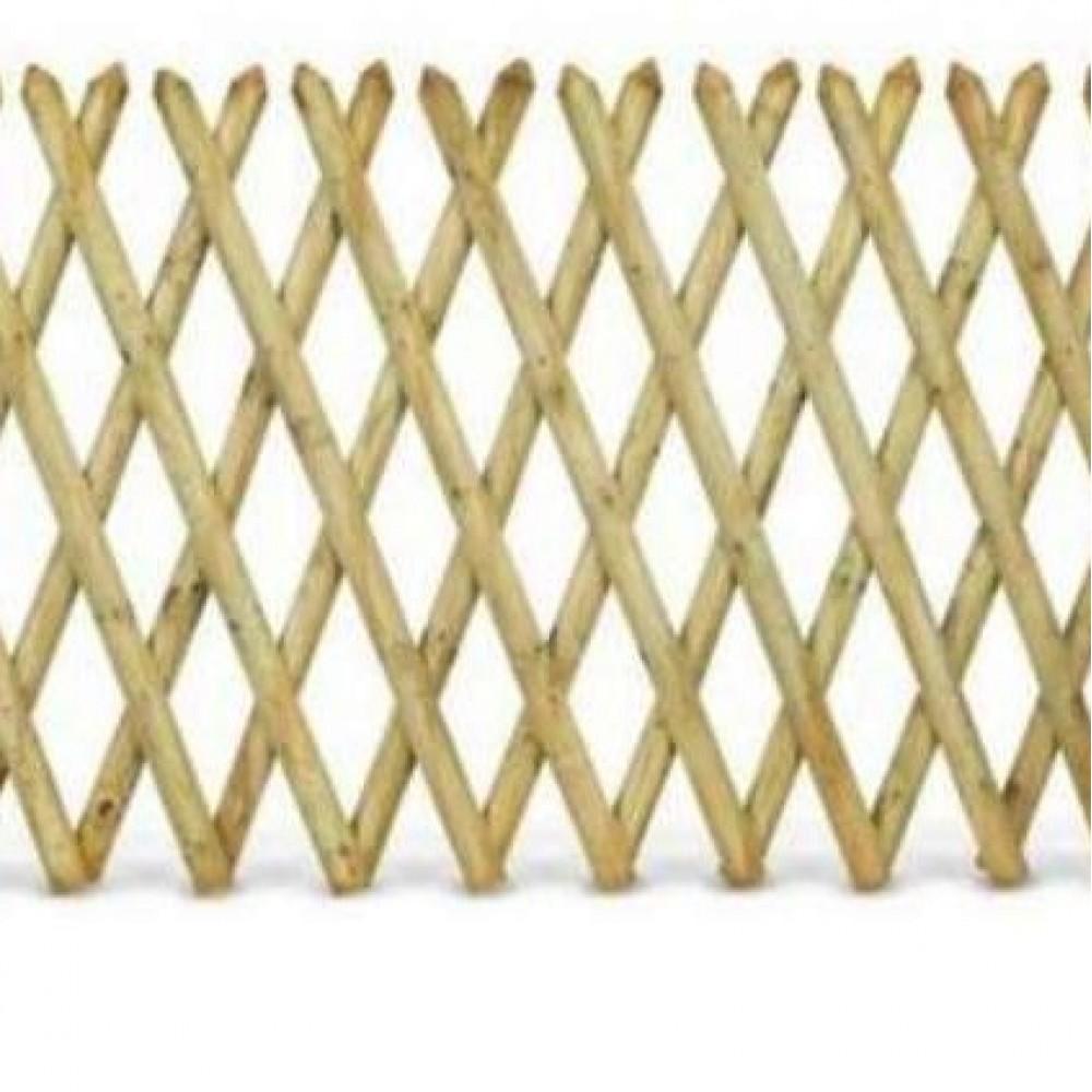 Steccato estensibile in legno h cm 80 - lung. 250