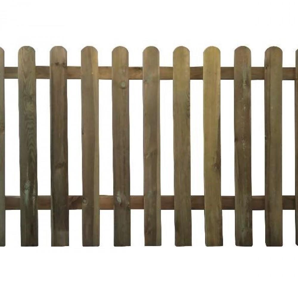 Steccato tavoletta in legno h cm 100 - lung. 180