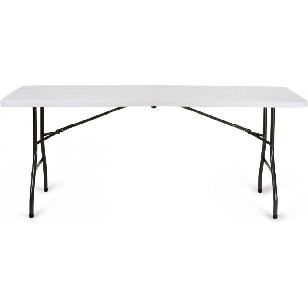 Set Fiesta tavolo pieghevole 182 cm x 76 cm x h 74 cm