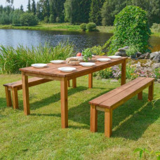 Tavolini da giardino in legno