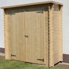 Armadio in legno Kerty 198 cm x 88 cm - h 196 cm