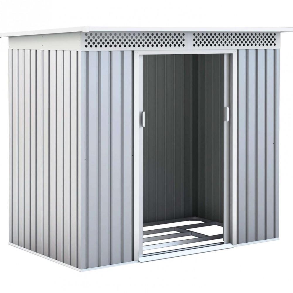 Box in acciaio zincato Silver 277 cm x 206 cm x h 187 cm