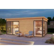 Casetta in legno Domeo 3 509 cm x 322 cm - h 239 cm
