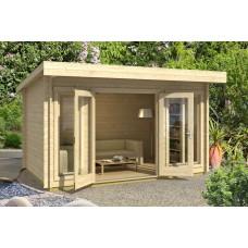 Casetta in legno Dorset 408 cm x 268 cm - h 234 cm
