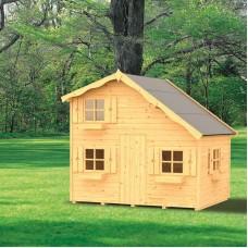 Casetta per bambini in legno Annika 220 cm x 180 cm - h 228 cm