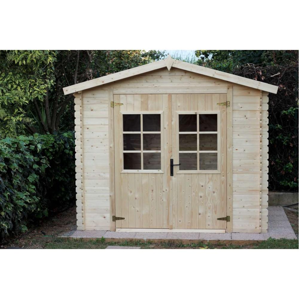 Casetta in legno Viola 246 cm x 300 cm - h 220 cm