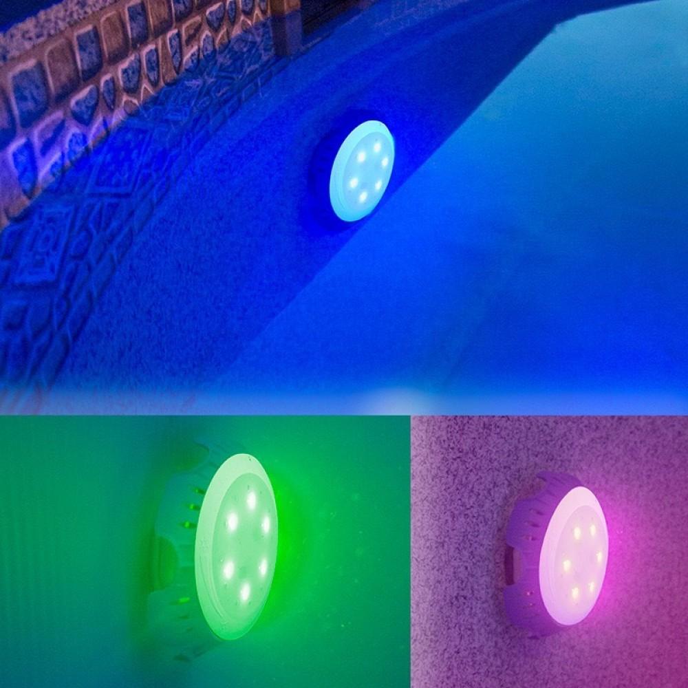 Faro per piscina con alimentazione autonoma luce colorata Gre