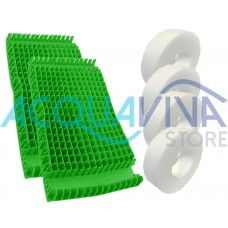 Kit Spazzole PVC Combi Dolphin Moby / Moby Pro