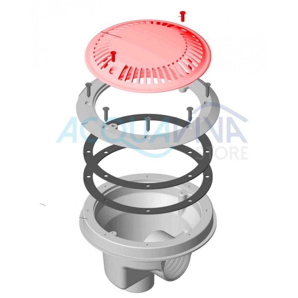 Griglia scolatoio anti - vortice Diametro 200mm Astralpool
